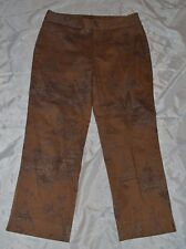 Womens Dockers Stretch Casual Pants ~ Light Brown ~ Sz 10 ~Cotton/Spandex