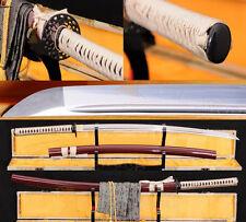 Full Tang Blade Japanese Samurai Sword KATANA 1060 High Carbon Steel Blade Sharp