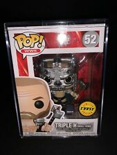 Funko Pop Wwe Triple H Skull King Chase 52 W/Pop Stack