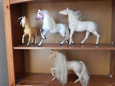 Vintage barbie cheval collection-Sun Runner 1983 & Fringant & POULAIN & cheval blanc