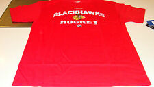 Chicago Blackhawks Elite Authentic Center Ice NHL Hockey Players M T Shirt SS