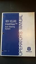 New Holland IntelliSteer Auto Steering System Operator's Manual, 2004