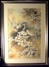 "Dolores Robertson ""Spring Song"" framed S/N"