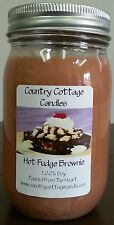 16 oz Hand Poured Soy Candle Hot Fudge Brownie.FREE SHIPPING