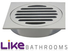 Big Half Quality Square Design Bathroom Floor Waste/md013