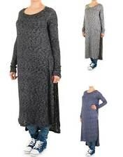 Lange Langarm Damen-Pullover & -Strickware aus Polyester ohne Verschluss