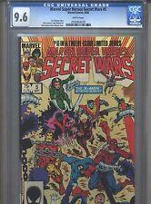 Marvel Super Heroes Secret Wars #5 CGC 9.6 (1984) Jim Shooter Bob Layton