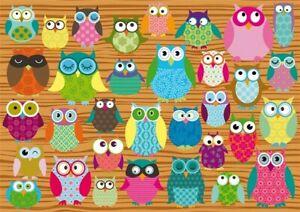 Schmidt 500 Piece Jigsaw Puzzle - Owls