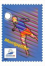 BR30017 Montpellier En route pour la XVI Coupe du Monde de Football 1998 stamps