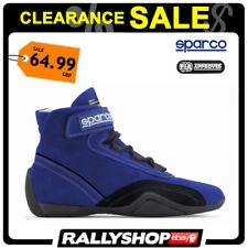 FIA Sparco Race Plus Shoes Size 47 Blue Racewear Rally Clearance Stock 21