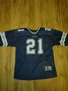 Sanders Dallas Cowboys Starter NFL Jersey Youth Size XL (18-20) or adult SM or M