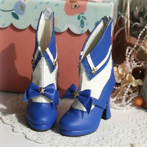 1/3SDGR/13/16 BJD Shoes Sailor High Heels Goblet Heel DIY Bow Multi-colors Noble