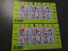 Nederland NVPH 2608 2x Vel Kinderzegels 2008 Frankeerwaarden Postfris !!!
