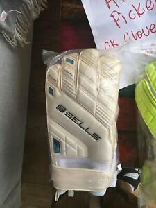 Sells Promo Aqua Wrap Goalkeeper gloves size 11 BRAND NEW