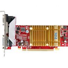 MSI R4350-MD512H, ATI Radeon HD 4350, 512 MB DDR2, HDMI, DVI-I, VGA, passiv