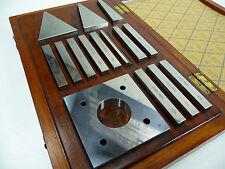 New listing Coventry Gauge Angle Gage Gauge Block Set 15Pc Toolmaker Tool Room ,Matrix,Tesa