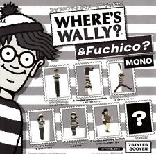 Find the Fuchiko and Wally cup MONO All 7 set Gashapon mascot toys