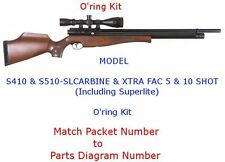 Air Arms S410 & S510-SL CARBINE & XTRA FAC 5 & 10 SHOT (Including Superlite)