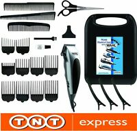WAHL 9243-2216 Home pro CORDED HAIR CLIPPER 22 PIECES KIT HAIRCUTTING SET 09243