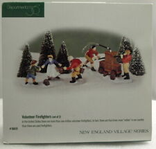 "Dept 56 New England Village ""Volunteer Firefighters"" Brand New"