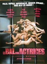 Affiche Cinéma LE BAL DES ACTRICES 120x160cm Poster Maïwenn / Charlotte Rampling