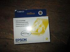 New Genuine Epson T0594 T059420 R2400 Yellow Ink Cartridge Sealed Carton 2015