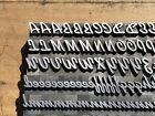 Large Antique VTG 48pt Kaufmann Bold Letterpress Print Type Letter # Set
