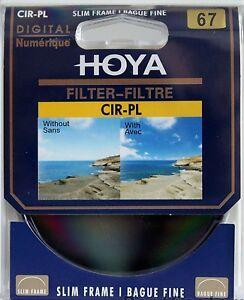 HOYA 67mm CPL Circular Polarizing CIR-PL CPL Filter for nikon Sony Camera lens