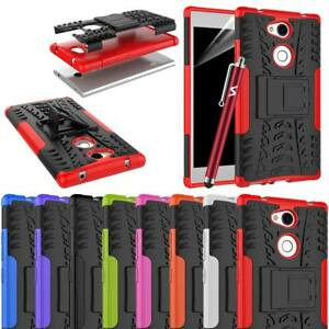 Sony Xperia L2 Case,  Heavy Duty Armour Tough Shock Proof Builder Case Cover