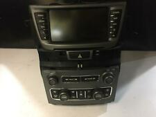 HOLDEN COMMODORE STEREO/HEAD UNIT SINGLE RADIO/CD PLAYER, EQUIPE/OMEGA, VE S2, 0