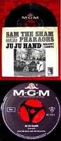Single Sam The Sham & The Pharaohs: Ju Ju Hand (MGM 61 115) D 1965