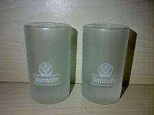 2 Gläser Original JÄGERMEISTER Halbbitter Glas Edel KULT Für Bar Bistro * JÄGER