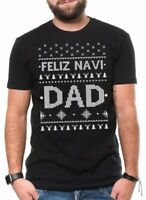 Christmas Gift For Dad Funny Ugly Christmas Sweater T-shirt Gift For Father