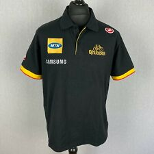 Castelli MTN Qhubeka Cycling Team Official Polo Shirt Mens Size 2XL Bike T-Shirt