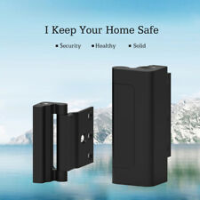 Aluminum Home Security Defender Childproof Door Reinforcement Lock with 4 Screws