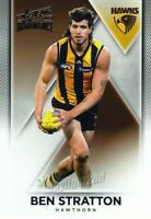 ✺New✺ 2019 HAWTHORN HAWKS AFL Card BEN STRATTON Dominance
