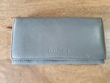 Authentic GUCCI Shima Soft Leather Long Wallet Authenticate First