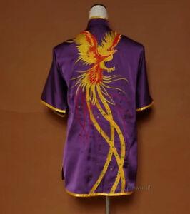 Embroidery Tai chi Changquan Uniform Martial arts Wushu Wing Chun Kung fu Suit
