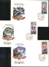 Russia - Lot of 6  FDC Space, 1977 y