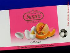 Confetti Buratti Cioccolato Mandorla Tenerezze Melone Bianchi 1 Kg Senza Glutine