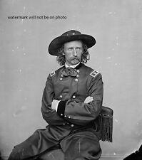 "Portrait of General George A. Custer 8""x 10"" Civil War Photo Picture #156"