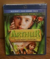 Arthur and the Invisibles 2 & 3: The New Minimoy Adventures New DVD
