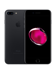 JET BLACK AT&T APPLE IPHONE 7 128GB SMARTPHONE + EXTRAS 511