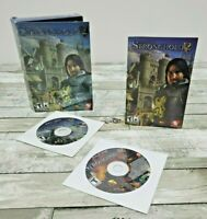 Stronghold 2:  (2005) Small Box PC CD-Rom Video Game - Firefly Studios/2K Games