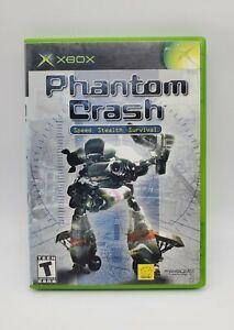 Phantom Crash (Microsoft Xbox, 2002) Complete CIB w/ Manual Authentic Video Game