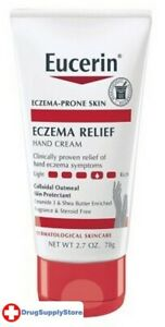 BL Eucerin Creme Eczema Relief Hand 2.7 oz Tube - Two PACK