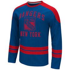 NEW YORK RANGERS NHL MENS GIII BY CARL BANKS OPPONENET LONG SLEEVE SHIRT X-LARGE