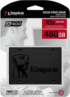 "Kingston SSD 480GB SATA III 2.5"" Internal Solid State Drive New Sealed"