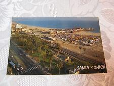 Vintage Postcard Santa Monica CA Pier and Carnival