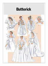 PATTERN to sew Veils Cathedral Fingertip Butterick 4487 short circular blusher